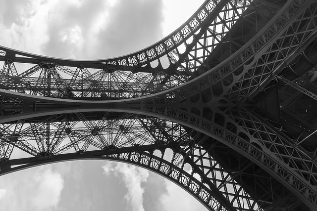 The details of the Eiffel Tower por Tjado