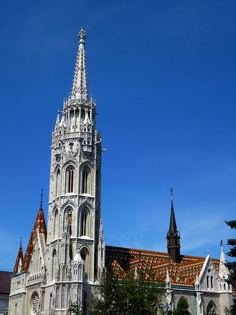 Budapest - jour 3 - 01 -  Mátyás-templom (Eglise Matthias ou Église Notre-Dame-de-l'Assomption de Budavár)