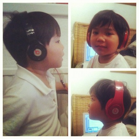 Chillaxin' #picstitch #kid #beats #music