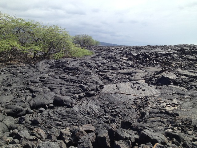 Old lava flows