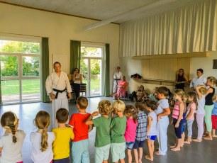 Familiensommer 2016 - Karate