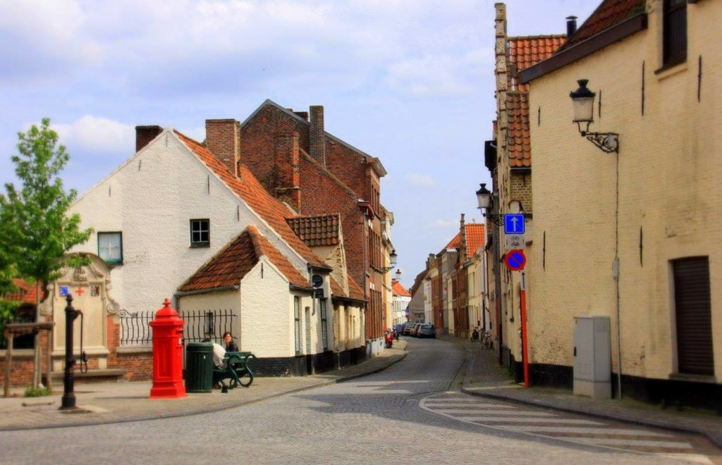 In Brugge, there is even a square called the lace makers square
