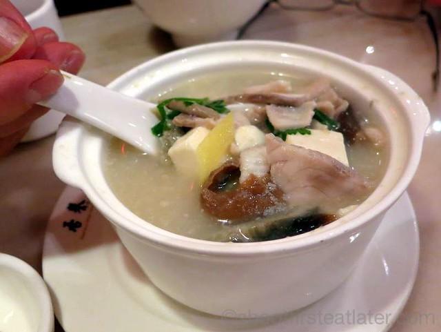 Praise Congee- seasonal soup HK$20