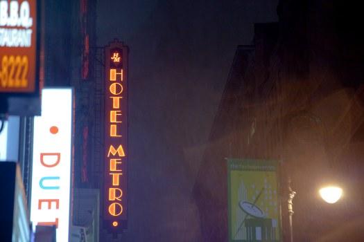New York City :  Hotel Metro