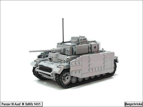Panzer III Ausf M de Panzerbricks