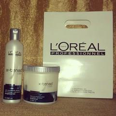 L'Oreal Professionel X-tenso Shampoo and Conditioner