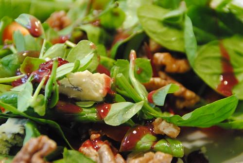 Steve's Leaves Christmas salad