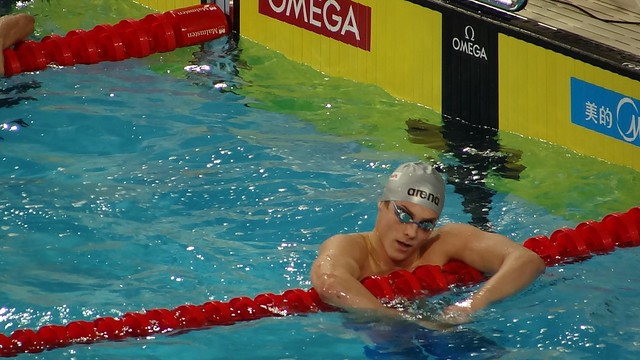 Vlad Morozov after his 100 free win at Istanbul 2012
