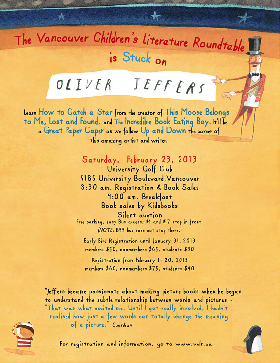 Oliver Jeffers breakfast