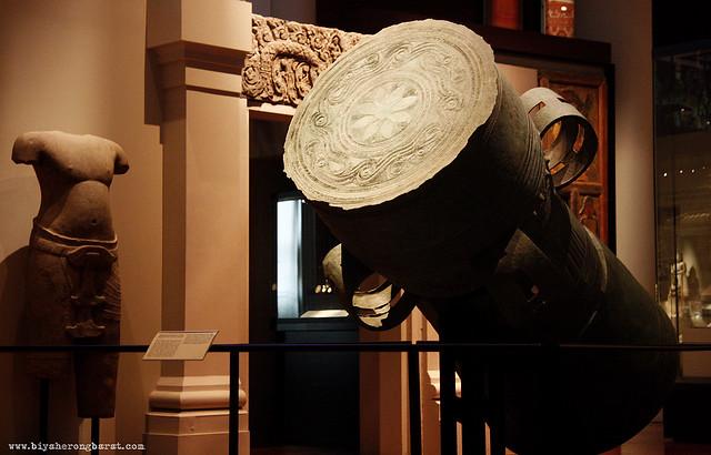 Pejeng style drum in asian civilisations museum