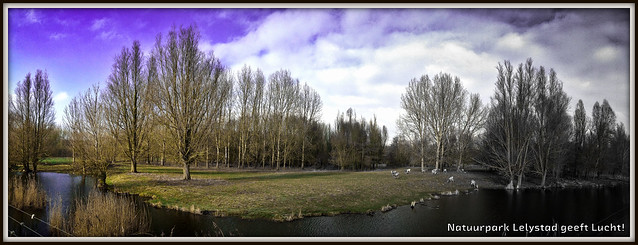 Natuurpark Lelystad geeft Lucht!