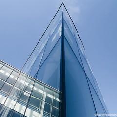 #sharpness on a #monday #morning #architecture #architecturelovers #blue #summer #sky #vsco #vscocam #belgium #igbelgium #belgium_unite #windows #wanderlust #travel #travelgram #wallonie #lines #reflection