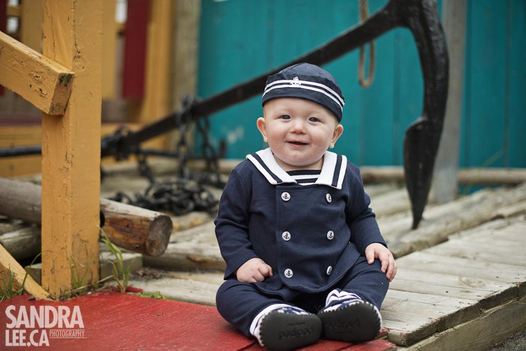 Ethan   Newfoundland Child Photography