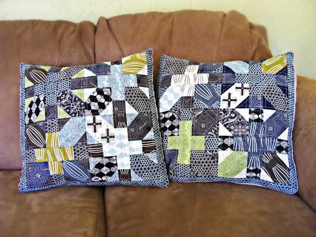 X & + Pillows for Dad