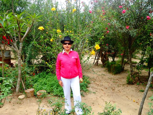 Lupe Cajías en Vallegrande