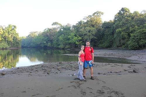 Y el de detrás es el Río Sirena, el que no se puede cruzar.