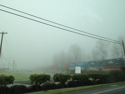 Foggy Day in Snohomish, WA. by DRheins