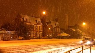 Heavy snow 25/1/13