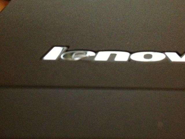 ThinkPad X230t Lenovo logo