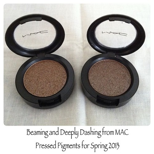 my picks from MAC Pressed Pigment for Spring 2013 #PhotoShake cc: @JigsMayuga