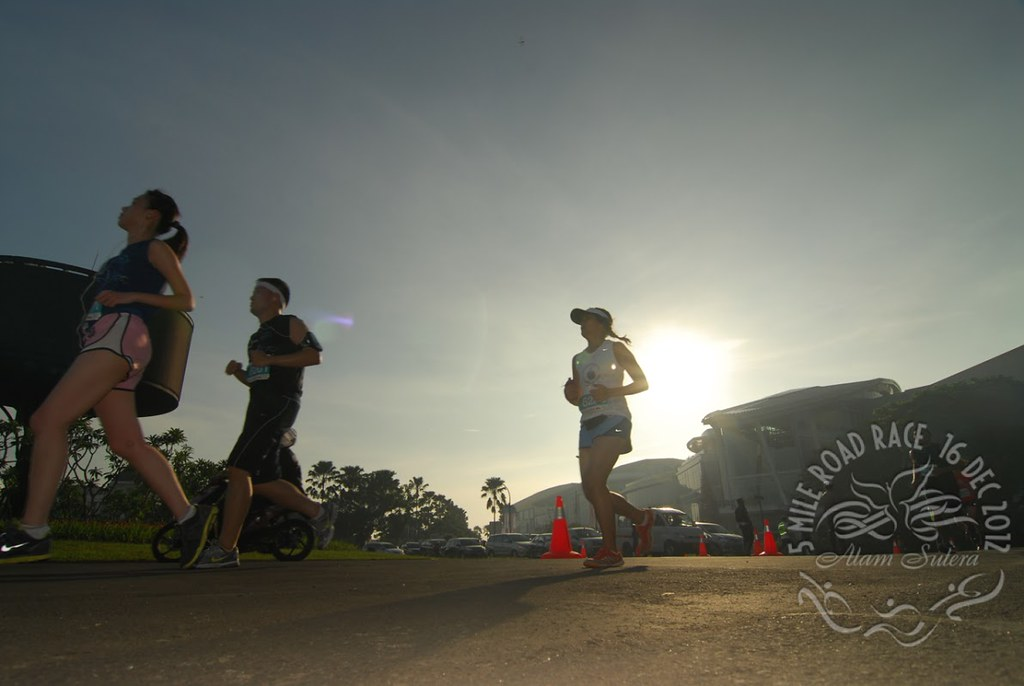 alam sutera 5-mile road race 2012