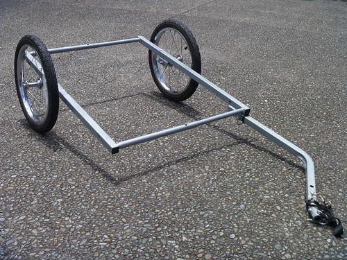 Bike Trailer Bare Chassis