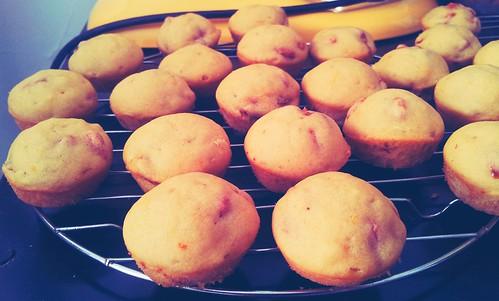Goji Berry Orange Muffins