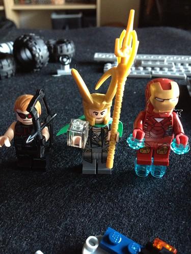 The mini figures