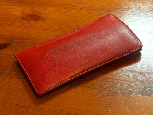 Coach Eyeglasses Leather Case (After)
