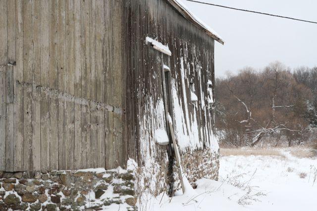 wooden barn