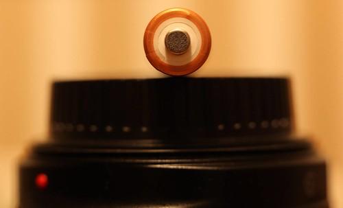 Battery On Lens