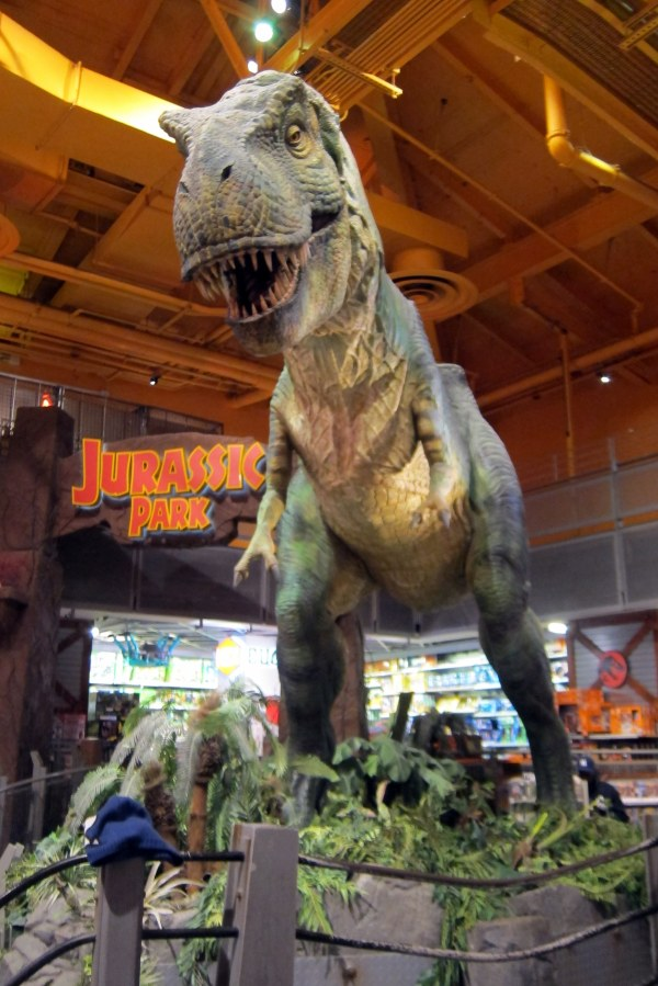 "Nyc - Times Square Toys """" Jurassic Park"