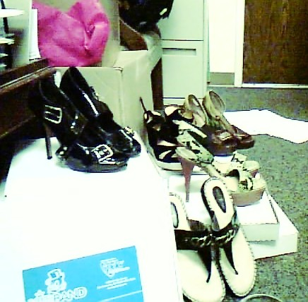 Office Shoe Re-Homeing! by Morgaine Fey