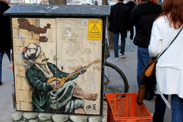 Street art in Konya