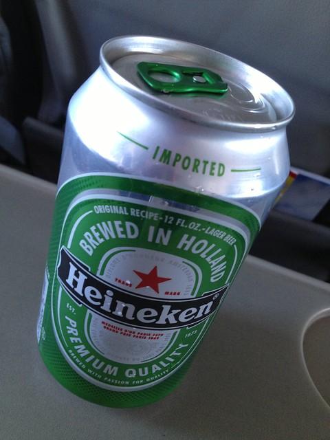 Heineken beer - Go! Airlines