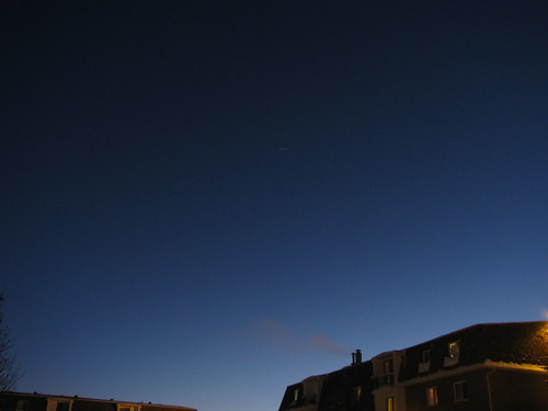 ISS over Regina, facing south