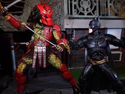 Batman Vs. Predator: Blade Vs. Blade