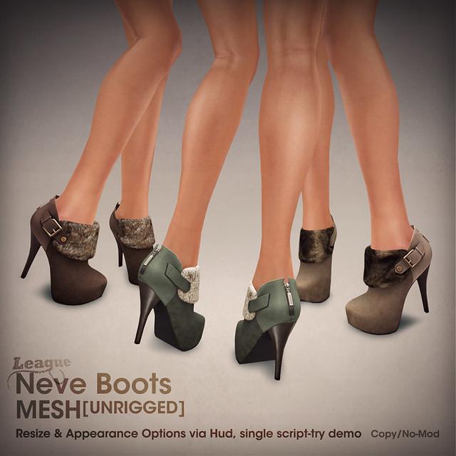 *League* Neve Boots SL Fashion
