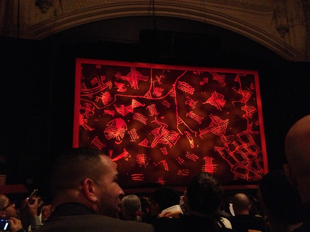 Lion King opening curtain