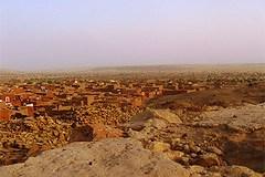 (La ville de Oualata où un Britannique a disparu. Crédit photo : anonyme)