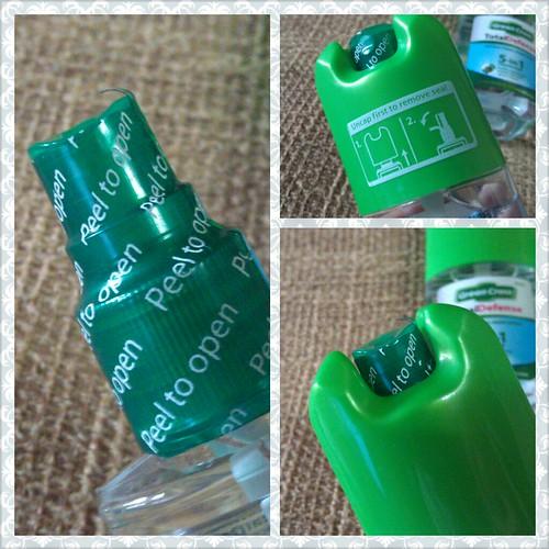 Green Cross Total Defense Anti-Bacterial Hand Spray