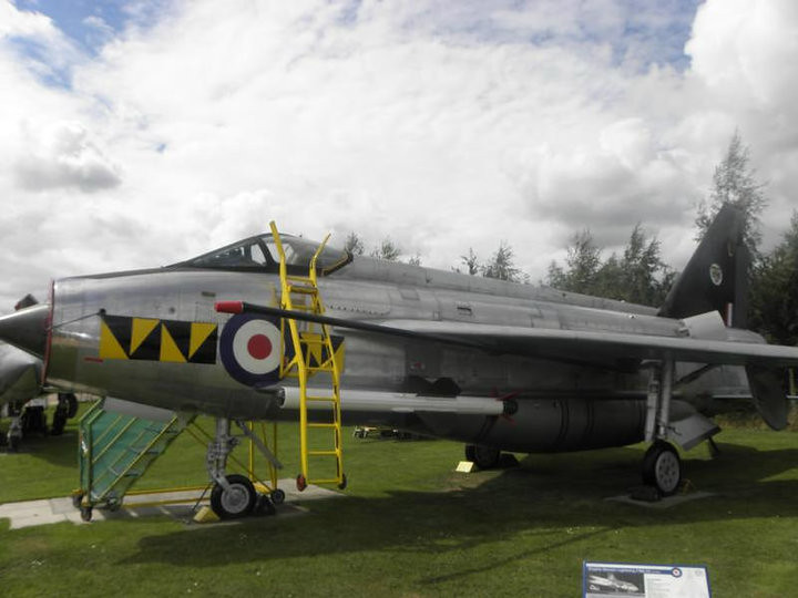 Electric Lightning at Castle Donington AeroPark