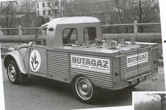 Citroën 2CV Pick Up - Butagaz