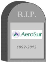 AeroSur Tombstone