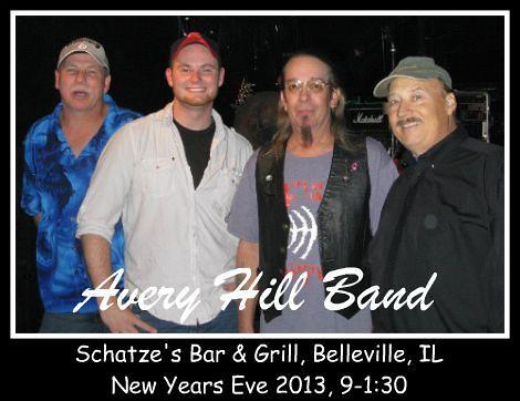 Avery Hill Band NYE 2013