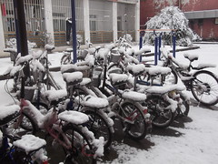 Snow in Hefei
