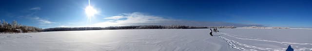 Frozen Lake Panoramic