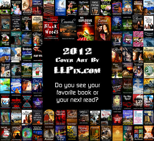 2012 Book Cover Designs by LLPix.com