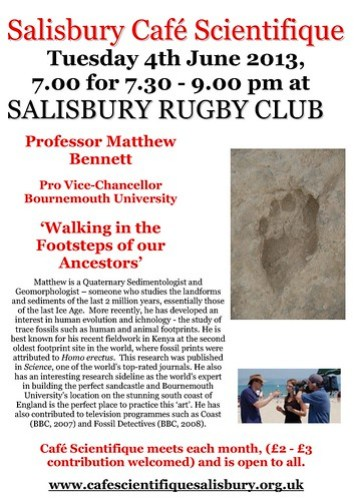 Poster for Prof. Matthew Bennett's talk