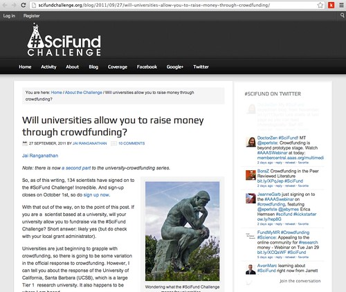Will universities allow you to raise money via crowdfunding?